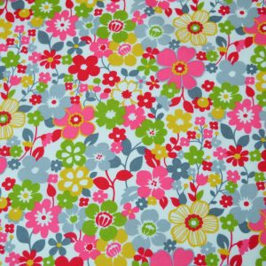 Flower Power Cotton Poplin | Holm Sown