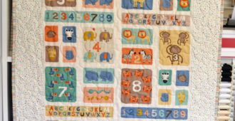 Holm Sown: A Speedy Baby Jungle Quilt
