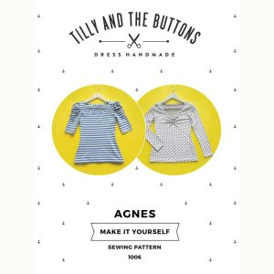 Tilly and the Buttons Agnes Top Sewing Pattern - Holm Sown