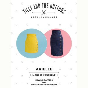 Tilly and the Buttons Arielle Skirt Sewing Pattern - Holm Sown