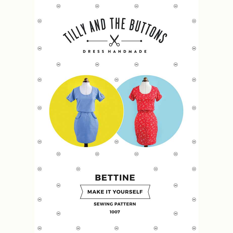Tilly and the Buttons Bettine Sewing Pattern - Holm Sown