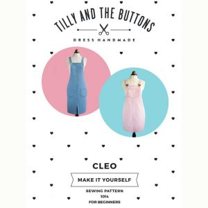 Tilly and the Buttons Cleo Pinafore and Dungaree Dress Sewing Pattern - Holm Sown