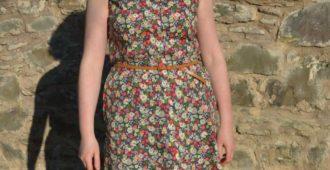 Holm Sown: McCalls M7351 Shirtdress - Strawberry Fields cotton lawn