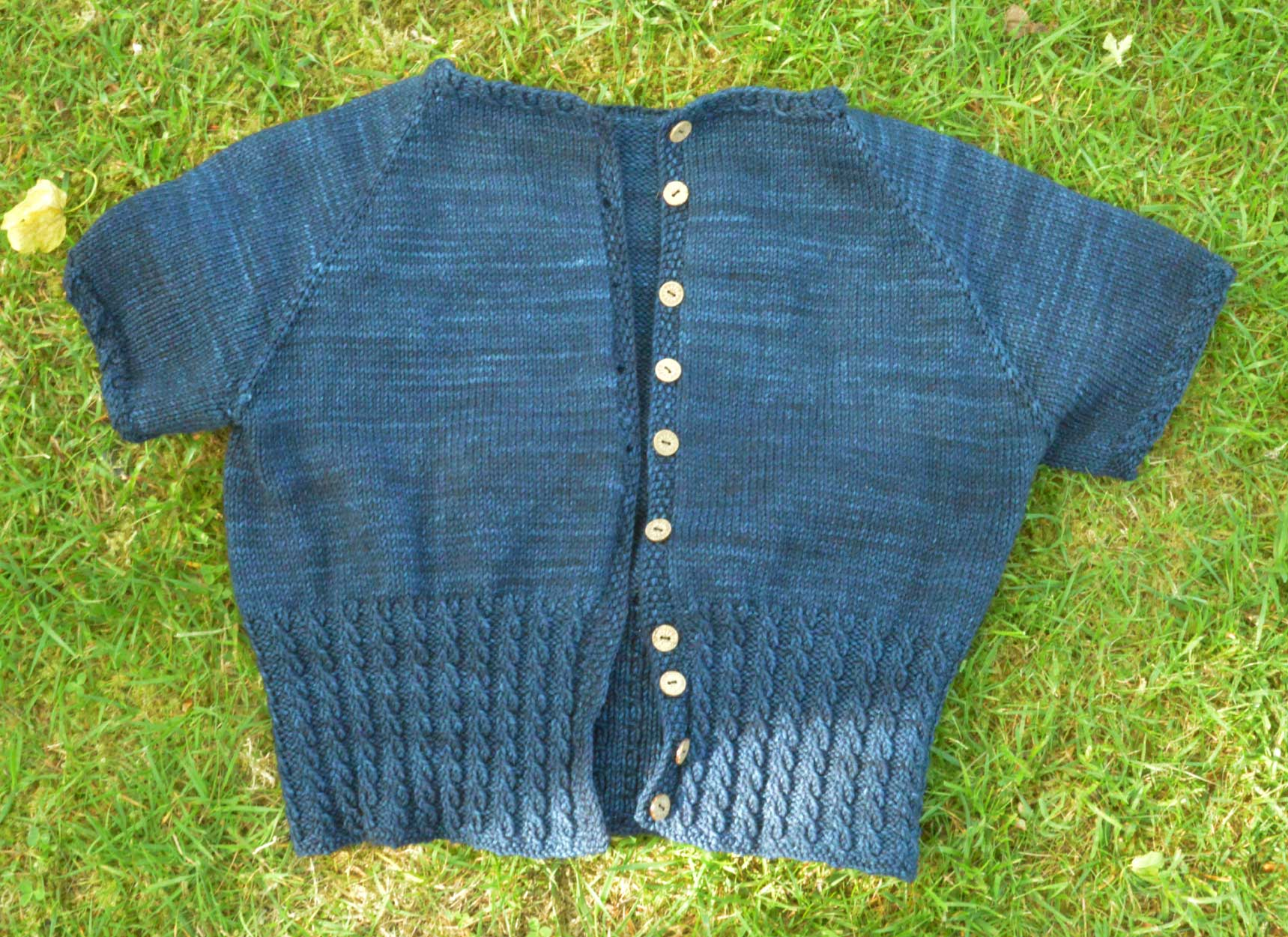 Free Mens Hat Knitting Patterns : A summery knitted cropped cardigan - Peggy Sue Holm Sown