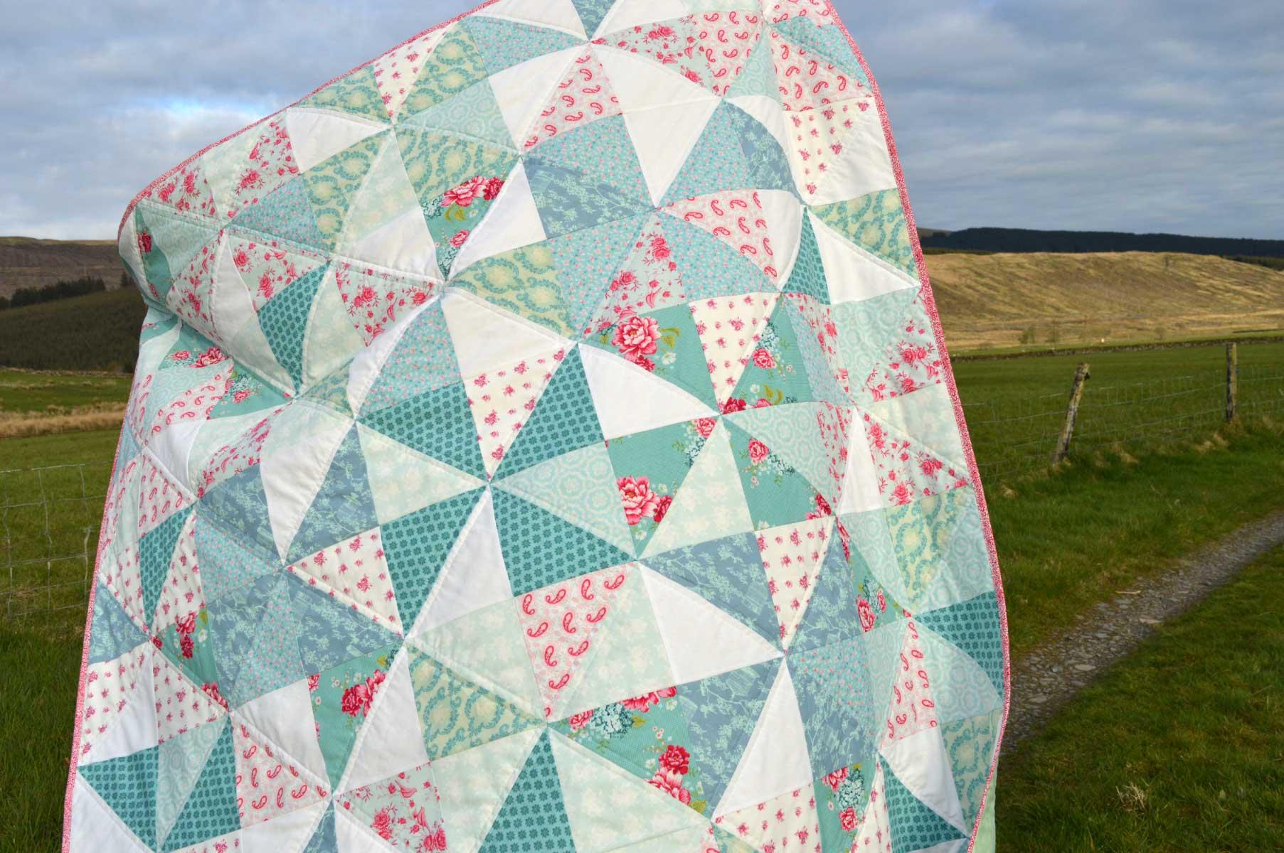 Holm Sown: Tilda Pinwheel Quilt //
