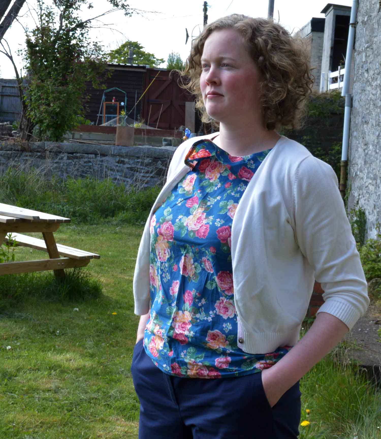 Holm Sown: Sew Over It Ultimate Shift Dress as a Top - Me Made May 17 // #mmmay17