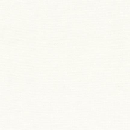 Kona Cotton Solids PFD Bleach White K1287 - Holm Sown