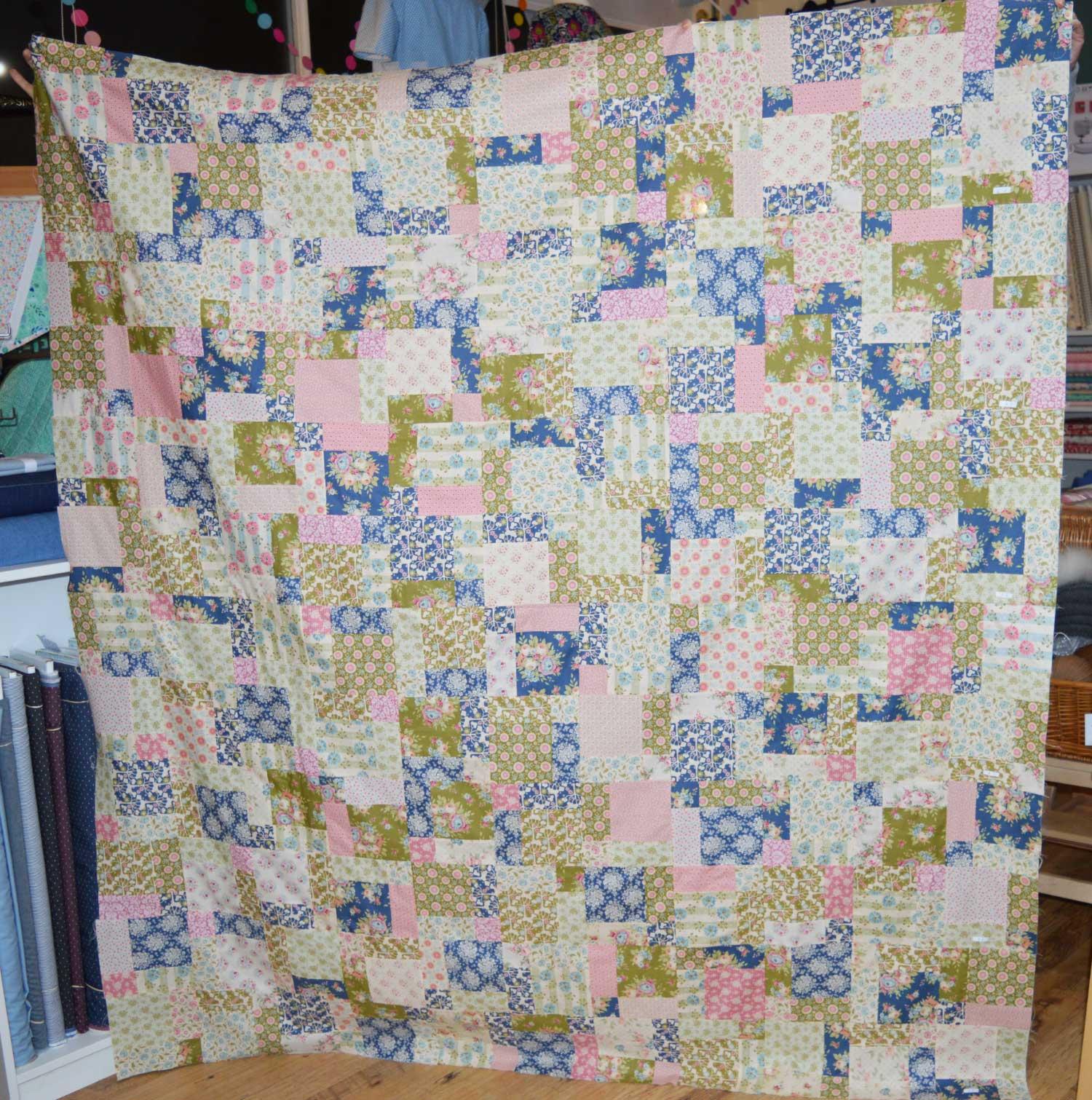 Sewn at Holm Sown: Customer Nine Patch Quilt - Tilda | Holm Sown