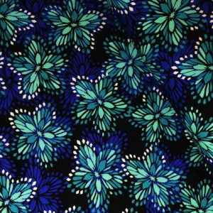Flower Burst Jersey | Dressmaking Fabric | Holm Sown