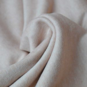 Holm Sown: Brushed Jersey - Dusky Peach | Dressmaking Fabric