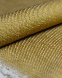 Holm Sown Online Fabric Shop - Denim Gold Twill dressmaking fabric