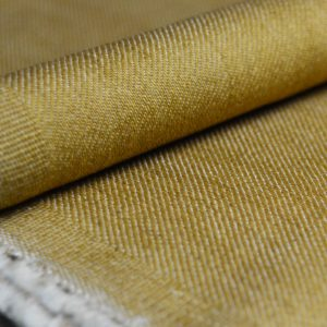 Holm Sown Online Fabric Shop - Denim Gold Twill dressmaking fabric