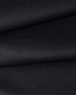 Holm Sown Online Fabric Shop - Black Stretch Denim dressmaking fabric