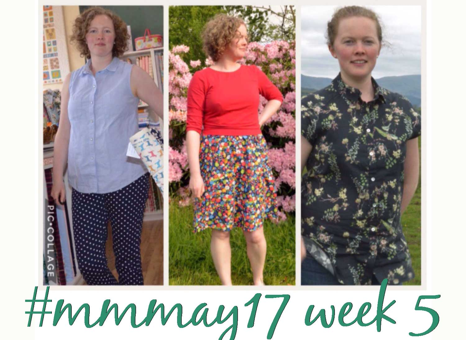 Holm Sown: Me Made May 17 week five round-up // #mmmay17