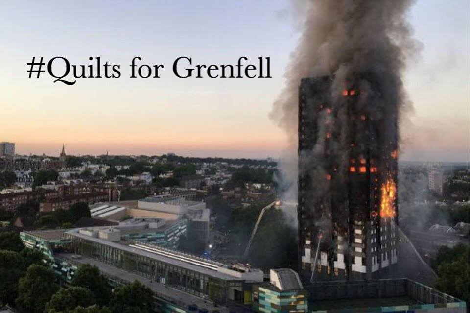 Quilts for Grenfell Tower Disaster - Holm Sown & DGMQG
