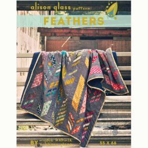 Alison Glass Patterns - Feathers Quilt Pattern | Holm Sown