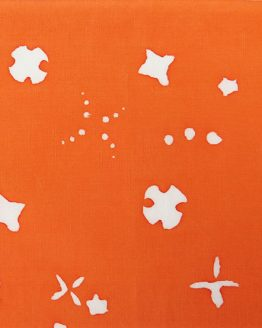 Holm Sown: Andover Fabric Alison Glass Chroma Handcrafted Batik - Carrot Scatter // cotton fabric