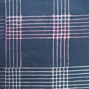 Holm Sown: Andover Fabric Alison Glass Chroma Handcrafted Batik - Shadow Plaid // cotton fabric