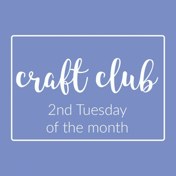 Craft Club - social knitting and sewing event - Holm Sown