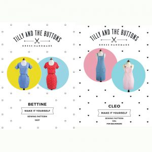 Pick your Dress sewing class - Tilly & The Buttons Bettine or Cleo // Holm Sown