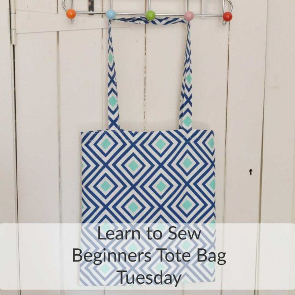 Learn to sew a tote bag - Holm Sown