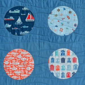 Reverse Applique Portholes sewing class // Holm Sown