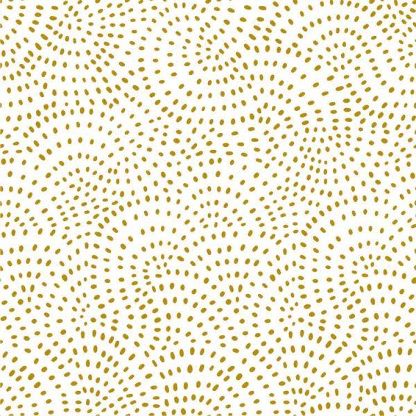 Dashwood Studio Twist Metallic Gold - 100% cotton quilting fabric | Holm Sown