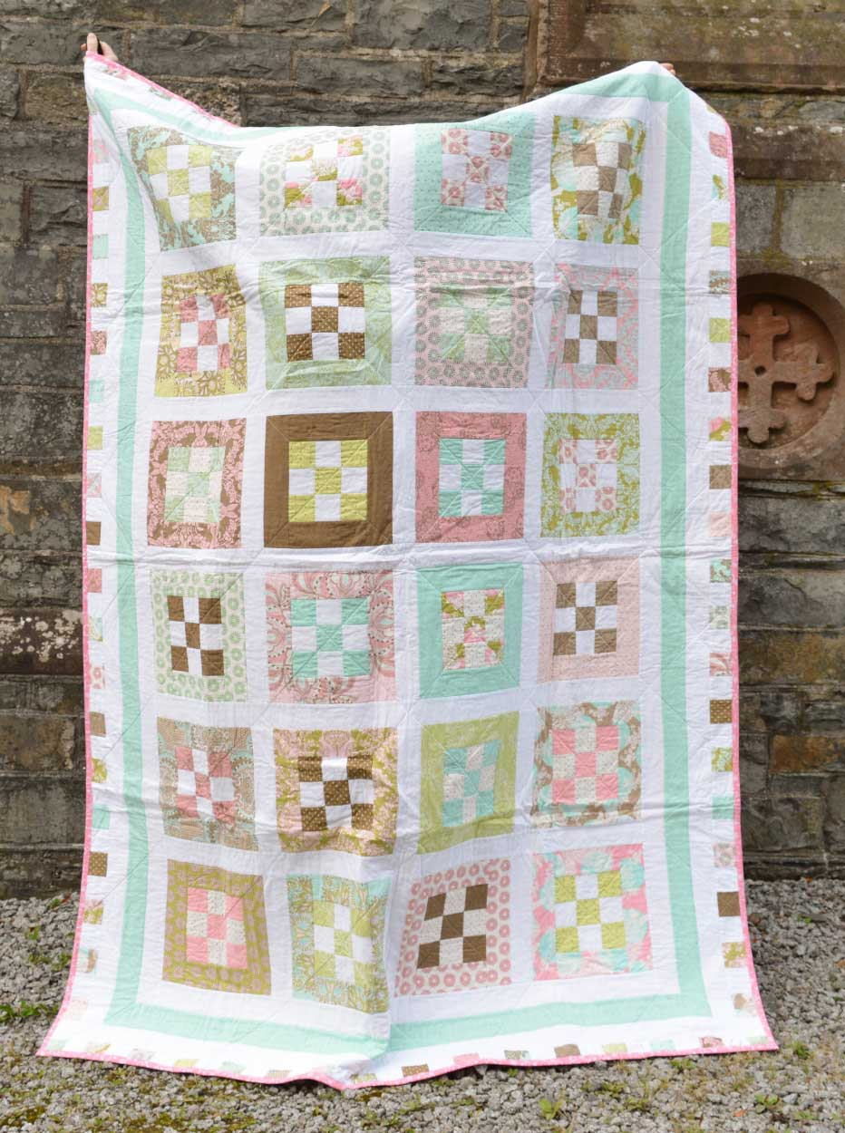 Quilts for Grenfell - Dumfries & Galloway Modern Quilt Guild (DGMQG) // Tula Pink Quilt