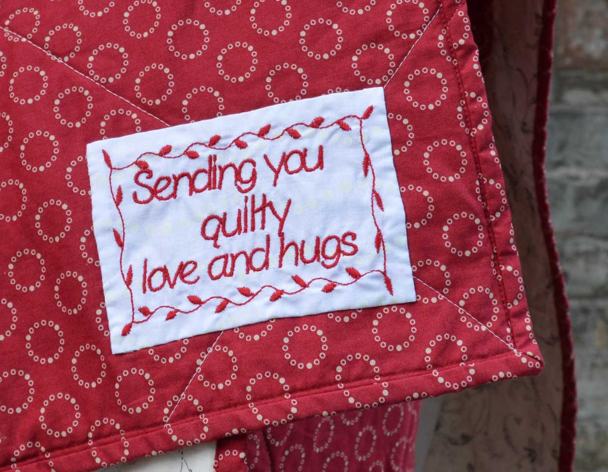 Quilts for Grenfell - Dumfries & Galloway Modern Quilt Guild (DGMQG) // Quilt Labels