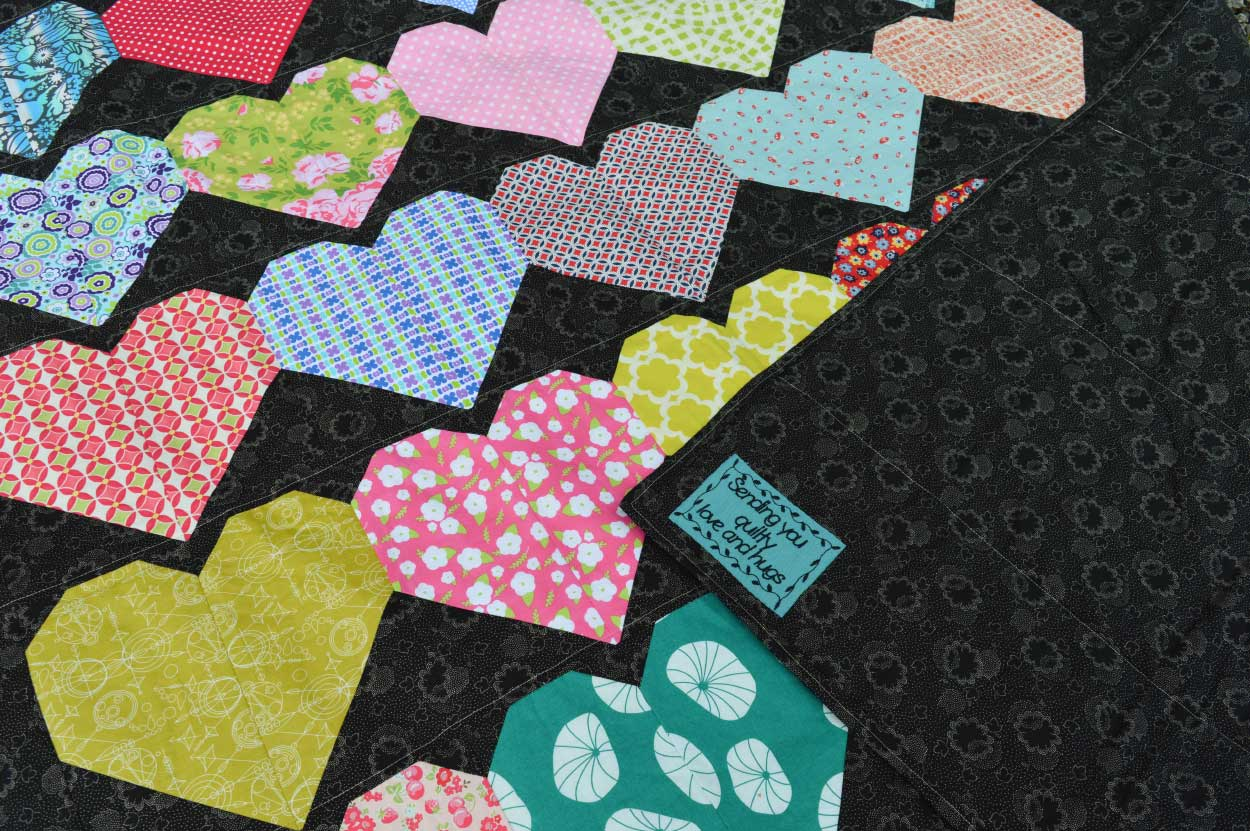 Quilts for Grenfell - Dumfries & Galloway Modern Quilt Guild (DGMQG) // Quilt Label