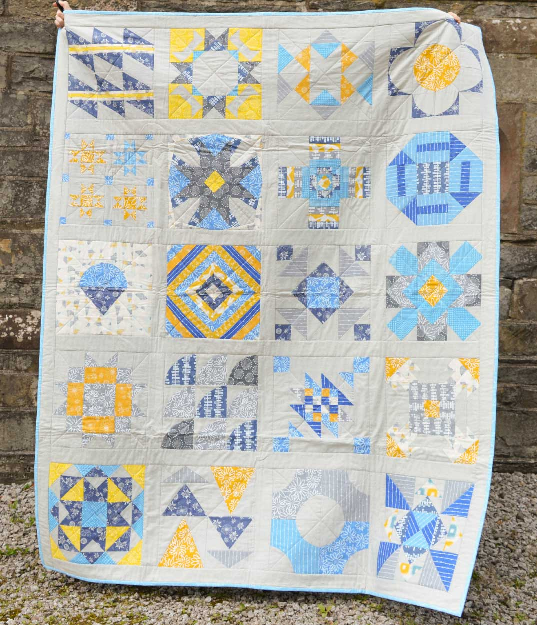 Quilts for Grenfell - Dumfries & Galloway Modern Quilt Guild (DGMQG) // 2016 Summer Sampler Quilt