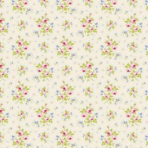Tilda Circus – First Kiss Linen 100% cotton quilting fabric | Holm Sown