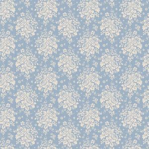 Tilda Circus – Summer Picnic Blue 100% cotton quilting fabric | Holm Sown
