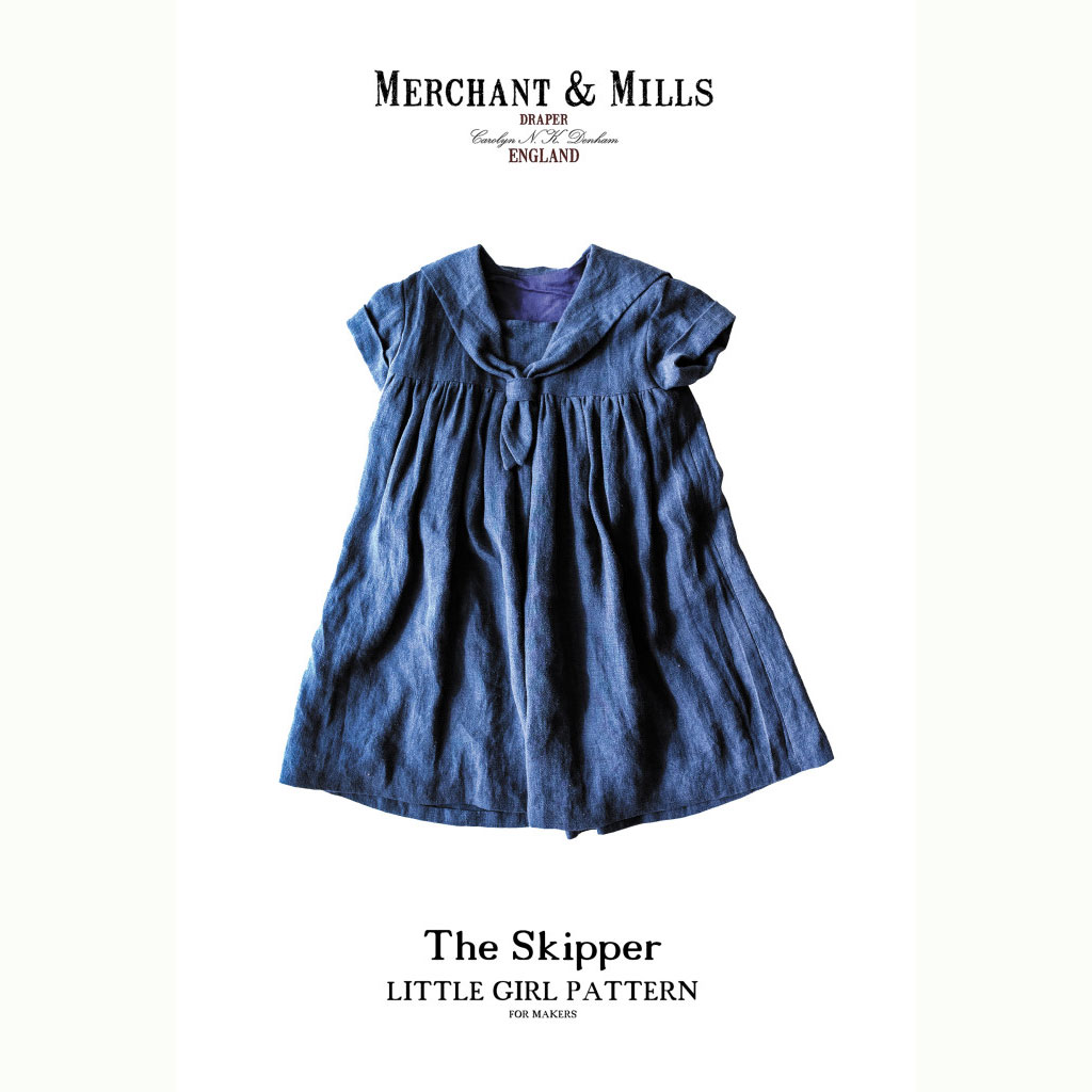 Merchant and Mills The Skipper Little Girl Pattern - dressmaking patterns from Holm Sown