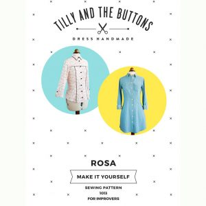 Tilly and the Buttons Rosa Shirtdress and Shirt Sewing Pattern - Holm Sown