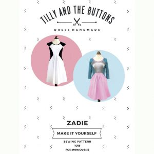 Tilly and the Buttons Zadie Dress Sewing Pattern - Holm Sown
