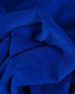 Fine Corduroy Needlecord Royal Blue - Holm Sown