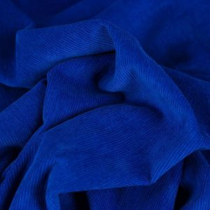 Fine Corduroy Needlecord Royal Blue - Holm Sown