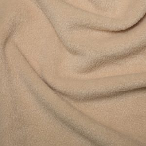 Anti-Pill Polar Fleece - Beige // dressmaking fabric // Holm Sown