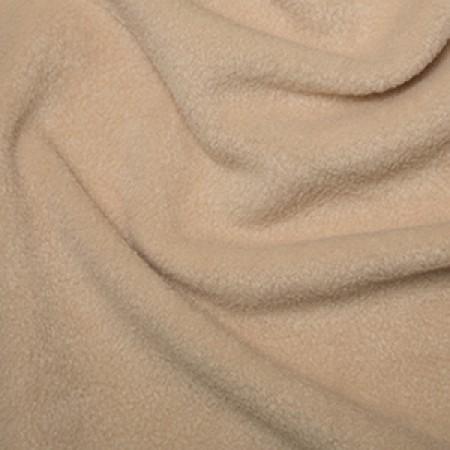 Anti-Pill Polar Fleece - Beige // dressmaking fabric // Holm Sown
