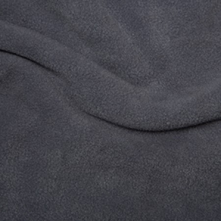 Anti-Pill Polar Fleece - Dark Grey // dressmaking fabric // Holm Sown