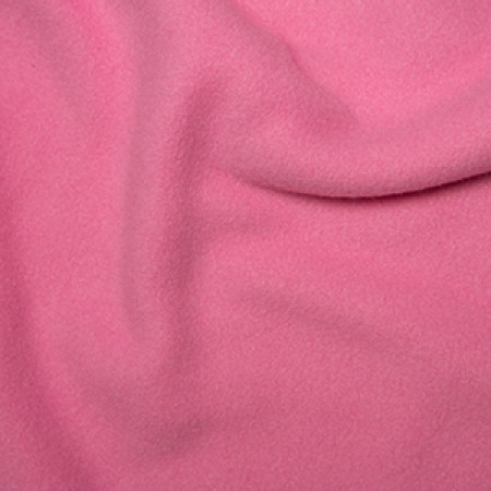 Anti-Pill Polar Fleece - Pale Pink // dressmaking fabric // Holm Sown