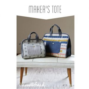 Noodlehead Makers Tote Sewing Pattern - Holm Sown