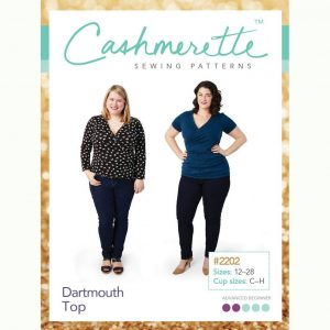 Cashmerette Sewing Patterns - Dartmouth Top - Holm Sown