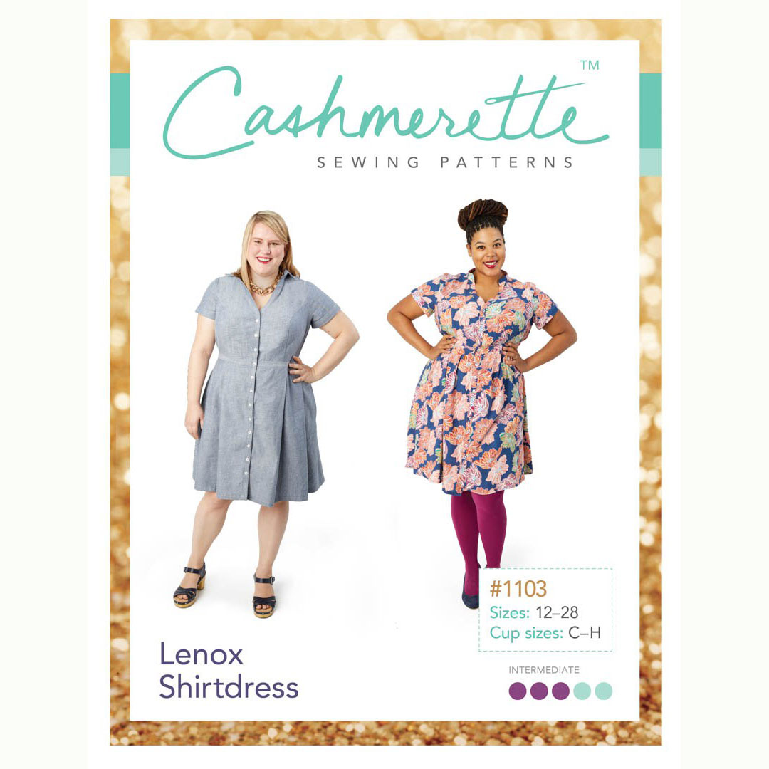 Cashmerette Sewing Patterns - Lenox Shirtdress - Holm Sown