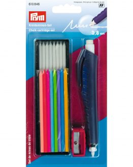 P610846 Prym Chalk Cartridge Pencil Set - Holm Sown