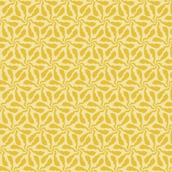 Holm Sown Online Fabric Shop - Cotton Fabric - Sundance Swirly Whirly Yellow by Beth Studley for Makower UK