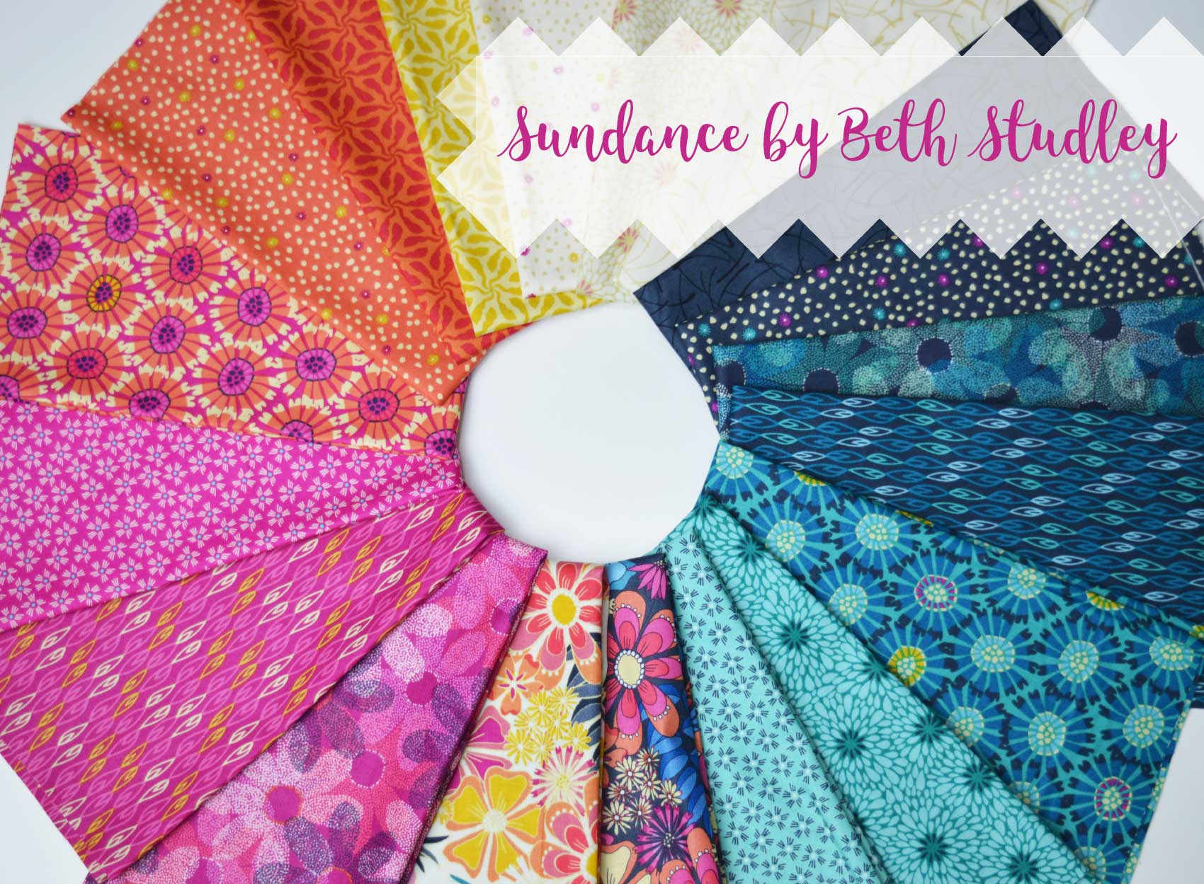 Holm Sown Online Fabric Shop - Sundance by Beth Studley for Makower UK / Andover Fabrics
