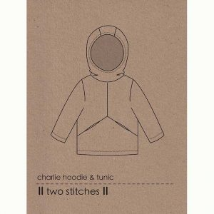 Holm Sown Online Fabric Shop - Two Stitches Charlie Hoodie & Tunic Sewing Pattern - envelope