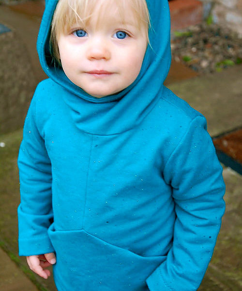 Holm Sown Online Fabric Shop - Two Stitches Charlie Hoodie & Tunic Sewing Pattern